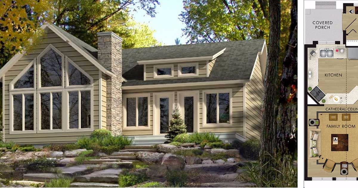 8 Stunning Open Concept Floor Plans For Tiny Homes
