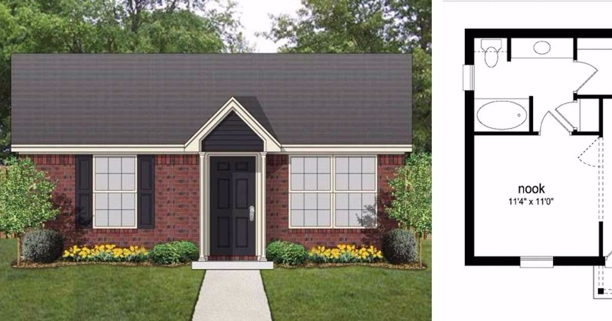 7 tiny studio floor plans that would make perfect bachelor for Bachelor pad house plans